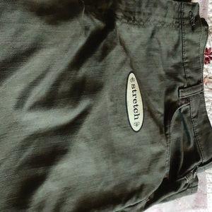Olive Green Lee Jeans